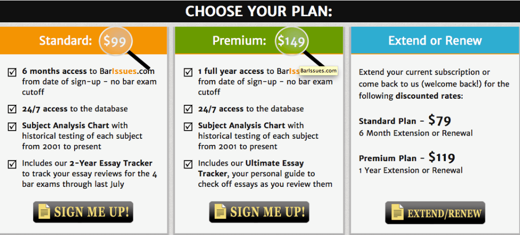 choose your plan