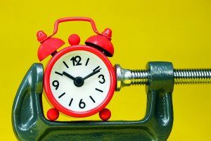 Time Clock - Waiting for Results